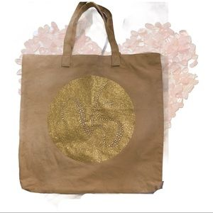 2/40$$$ Gold Sparkly Victoria's Secret Tote